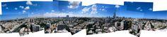 A 360 degrees view from Bialik Tower, Ramat Gan