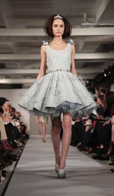 NY Fashion Week - Oscar de la Renta Fall 2012 show