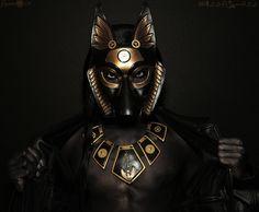 Darksome Anubis by Onyx-Philomel.deviantart.com on @DeviantArt