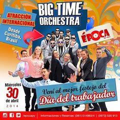 Big Time Orchestra - Show Internacional - Paraguai - Big Time Orchestra