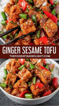 Chinese Tofu Recipes, Tofu Dinner Recipes, Wok Recipes, Vegan Dinners, Recipes With Tofu, Healthy Tofu Recipes, Good Vegan Recipes, Vegetable Recipes, Asian Tofu Recipes