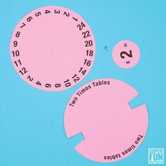 Times Table Spinners – Super Fun Printables What is Makeup ? Kids Math Worksheets, Activities For Kids, Universidad Ideas, 2 Times Table, Math Tools, Bingo Cards, Math For Kids, Kids Education, Math Lessons