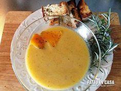 """La Vellutata di zucca e patate al curry di """"Fatto in casa è più buono""""!"""