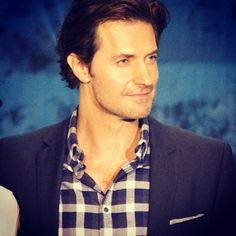 Isn't he beautiful?? Richard in L.A. at Book of New Zealand Event ~ photo by Heather