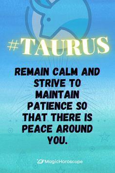 🔮 Read your Taurus #DailyHoroscope prediction for today 🔮 #Horoscope #Horoscopes #Prediction #HoroscopePrediction #MagicHoroscope #Zodiac #Astrology #ZodiacSigns #Aries #Taurus #Gemini #Cancer #Leo #Virgo #Libra #Scorpio #Sagittarius #Capricorn #Aquarius #Pisces