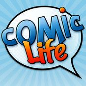 Create your own graphic novels or humorous cartoons on iPad wit Comic life. Genius software from Plasq.