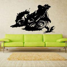 Wall Decal Art Decor Decals Sticker Bedroom Design Mural Tribal Dirt Bike Moto Motorcycle Race Rally Gp (M822) DecorWallDecals http://www.amazon.com/dp/B00HP0FLGQ/ref=cm_sw_r_pi_dp_h7o2ub0AWST3S