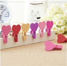 10 Manualidades que Puedes Hacer con Pinzas de Madera para del Día de San Valentín