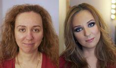 Chega até a ser um pouco espantoso o quanto algumas mulheres vão longe para parecerem mais bonitas. Por outro lado é inacreditável como o resultado pode ser sensacional. Com um pouco de maquiagem toda mulher pode ficar parecendo uma estrela de Hollywood. 1. 2. 3. 4. 5. 6. 7. 8. 9. 10. 11. 12. 13. …