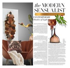 """""""Modern/Contemporary Lighting"""" by eyesondesign ❤ liked on Polyvore featuring interior, interiors, interior design, home, home decor, interior decorating, WALL, Plum & Bow, modern and contemporary"""
