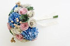 READY TO SHIP  Jane Austen Bridal Bouquet  Book by AnthologyOnMain