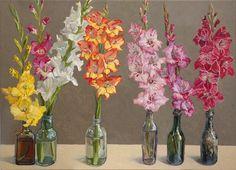 Lucy Culliton - Bibbenluke Flowers: Gladioli