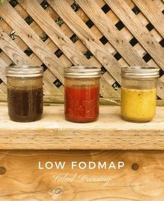 Low FODMAP Salad Dressing: Try these three easy low FODAMP salad dressing options to liven up your fibre. This post includes recipes for a low FODMAP balsamic vinaigrette, Low FODMAP Greek Dressing, and a Low FODAMP Catalina Dressing. Enjoy! #fodmap #lowfodmap #fodmapformula www.fodmapformula.com