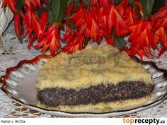Křehký makový koláč