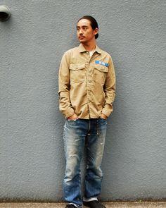 [TOPS] SD Fatigue Shirt PRICE : ¥16,800(+Tax) RELEASE : Feb.