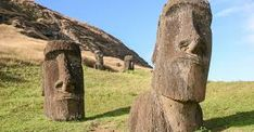 Easter Island was home to a great civilization. They built famous stone statues that still stand. But they also chopped down trees & used up farmland. Many experts think they disappeared because they ran out of food! Uk Summer Holidays, Luxury Family Holidays, Easter Island Statues, Chili, Road Trip, Polynesian Islands, Under The Shadow, Stone Statues, Head & Shoulders