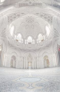 Looks like the Tahj Mahal design. It's white too. This is my envisioned house design! It would be the living room.