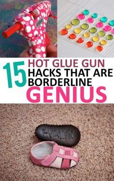 15 Hot Glue Gun Hacks that are Borderline Genius