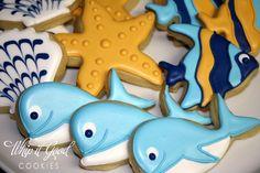 Cute under the sea cookies