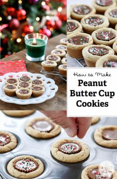 Peanut butter cup cookies - recipe