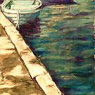 Blue Boats at Llangors Lake