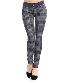 Black Houndstooth Jeggings | Daily deals for moms, babies and kids