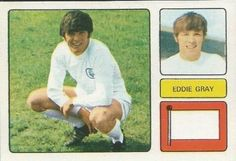 Eddie Gray of Leeds Utd in Leeds United Fc, Football Stickers, Al Pacino, 1970s, The Unit, Baseball Cards, Gray, Classic, Trading Cards