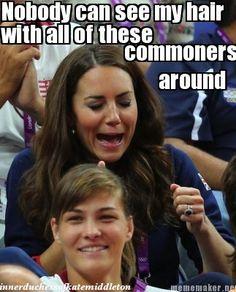 My Poor Hair (The Inner Duchess of Kate Middleton)