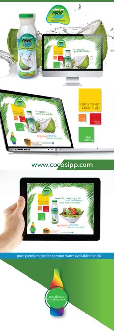 cocosipp is the FMCG products of tender coconut water. Coconut Oil Weight Loss, Weight Loss Results, Weight Loss Drinks, New Flavour, Coconut Water, Web Design, Pure Products, Bottle, Design Web