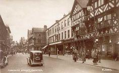 Cheshire, Chester, Foregate Steet 1950's.jpg (800×491)
