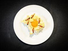 https://flic.kr/p/UEP89B | Huevos nube. koketo | Los huevos nube son una nueva elaboración o evolución. Se trata de un merengue horneado acompañada por baicon o queso y con la yema líquida. koketo.es/huevos-nube/ @chefkoketo