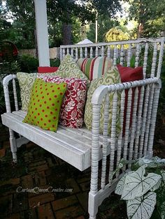 Jenny Lind Baby Bed Transformed