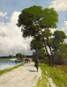 A Breezy Day, 1903 Farquhar McGillivray Knowles Canadian, 1859 - 1932 Oil on canvas Overall: x cm Gift of North American Life Assurance Company, Toronto, 1996 © 2013 Art Gallery of Ontario Toronto Art Gallery, Art Gallery Of Ontario, Group Of Seven, Canada, American Life, Canadian Artists, Large Art, Art Day, Online Art