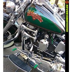 Seven Sins Choppers Grips Foot Shifts & Ignition Wires on a Harley Softail. Thanks to Mr. Broadus! #sevensinschoppers #softail #harleysoftail #harleyevo #harleydavidson #galaxygrips #galaxyplugwires #harley #custom #motorcycle #green #softtailcustom #softailcustom #softtaildeluxe #softtailbreakout #softtailheritage #softailfatboy #softailbobber #softailbuild #softail_squad #softailparts