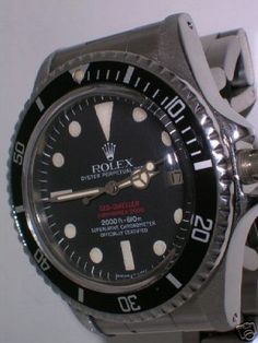 "Really nice Rolex ""Double-Red"" Seadweller ref 1665, mk-IV"