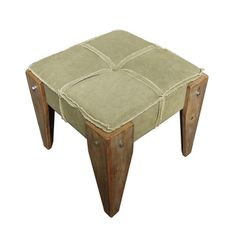 @Overstock - Add a touch of Rustic Elegance to your indoor furnishings with this Tufted Fabric Stool. This piece has a tufted cushioning for the maximum in comfort and a Rustic Wooden leg design for a striking stylistic aesthetic.http://www.overstock.com/Home-Garden/Rustic-Elegance-Tufted-Fabric-Stool/7213492/product.html?CID=214117 $119.99