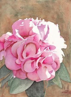 Pink Azalea Painting by Ken Powers - Pink Azalea Fine Art Prints and Posters for…