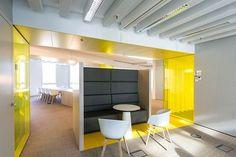 Interieur Corporate Learning Centre Westraven CLC Rijkswaterstaat Utrecht door Studio Groen+Schild