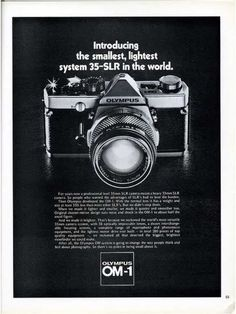 Vintage Camera Ads Part II: The Single Lens Reflex Cameras · Lomography