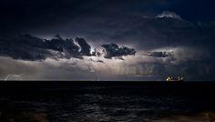 Majestic storm on the horizon by Francesco Magoga Photography, via Flickr