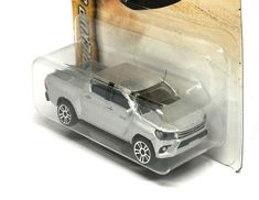 Toyota SUV Off Roader Silver Fortuner Scale Toy Model India Collectible Plastic