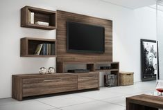 Minimalist House Design, Minimalist Home, The Unit, Wall, Furniture, Home Decor, Environment, Shelving Brackets, Libraries
