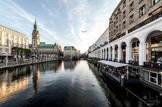 Alsterarkaden #Hamburg