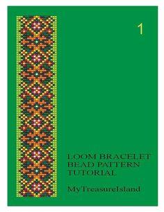 Bead Loom Geometrical Motifs 1 3 9 10 Multi-Color Bracelet