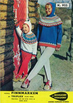 Finnmarken k 922 Embroidery Patterns, Knitting Patterns, Norwegian Knitting, Balaclava, Tapestry Weaving, Skiing, Scandinavian, Knitwear, Avengers