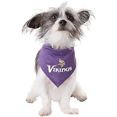 Dog Bandanas  Bandana Dog Collars   Headbands. Minnesota Vikings ... 375d0e726