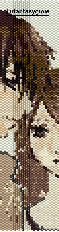 I peyote di Lufantasygioie: pattern personaggi