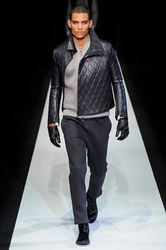 Emporio Armani | Fall 2013 Menswear Collection | Style.com