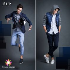 Look sophisticated, no matter how active your day. #LouisPhilippe #CentreSquare