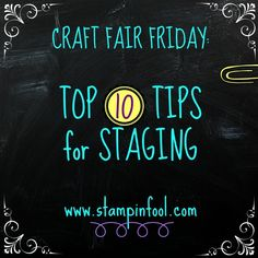 Top 10 Craft Fair Staging Tips
